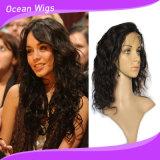 100% 브라질 Virgin 머리 8A 바디 파 인도 머리 가득 차있는 레이스 가발