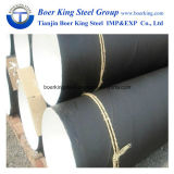 3PE, das rostfestes Spiral/ERW/SSAW Stahlrohr beschichtet