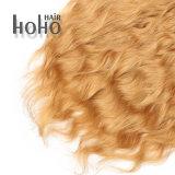 Cheveux humains 18 pouces brésilien Kinky Curly clip dans l'extension de cheveux dans le jeu