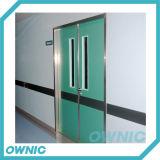 Los Ss 304 enmarcan la puerta de oscilación manual de la placa de acero
