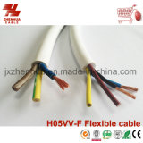 Fio de Cobre Flexível de PVC 3core 4 core 5 core 1,5mm 2,5mm 4,0mm