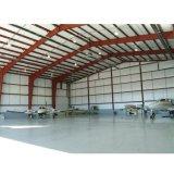 Hangar de aviones de prefabricados de estructura de acero