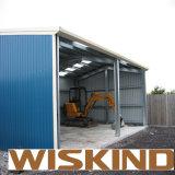 Garage della struttura d'acciaio
