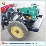 Portable Diesel Engine Movable Trailer Water Suction Pump