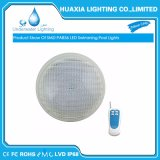 IP68 impermeabilizzano l'indicatore luminoso subacqueo della piscina di SMD3014 18W PAR56 LED
