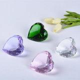 빛나는 수정같은 유리 다이아몬드 문진, Gorgeus 수정같은 결혼식 훈장, 결혼식 발렌타인 선물