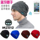 Barato Manter quente personalizados de alta qualidade de música de Inverno Knittied Beanies Bluetooth