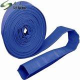 O PVC flexível de borracha de irrigação plana leigos