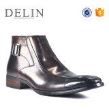 El Monje de la cuchara Bota de cuero zapato de moda casual para hombres