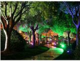 Holofotes de LED RGB de sabugo 30W/50W RGB LED coloridos para Holofote à prova de jardim, IP65