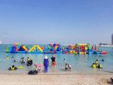 Sosta gonfiabile del Aqua della sosta dell'acqua, giochi giganti gonfiabili dell'acqua per gli adulti, strumentazione del parco di divertimenti della sosta dell'acqua da vendere