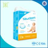 Ultra fina de alta qualidade suave das fraldas para bebés fraldas descartáveis respirável