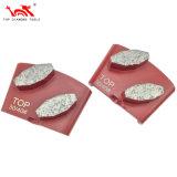 갈고 닦는 콘크리트/테라조 지면을%s 다이아몬드 가는 격판덮개