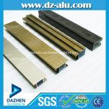 Profilo di alluminio con colore personalizzato anodizzato/cappotto della polvere/il grano di legno