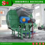 Planta de recicl de borracha Energy-Saving para Shredding gasto/usado do pneu