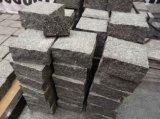 O granito/basalto naturais do material de construção/caiu godo/cubo/pedra de pavimentação cúbica/pedra para a paisagem, jardim do Paver