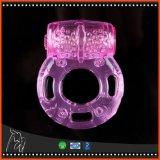 Anéis macios da geléia do silicone do anel inteiramente Stimulating elétrico dos pontos do pénis dos produtos do sexo do anel do pénis de Ejacultion do atraso dos anéis da torneira para homens