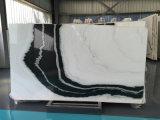 Черный и белый цвет Panda белые мраморные плиты