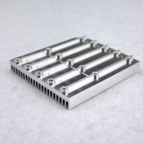 Zoll CNC-Prägedrehbank-Aluminiumbewegungskühlkörper-Platte/Silber anodisierte Aluminiumkühlkörper-Teile