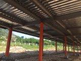 Edificio de varios pisos del taller de la fábrica de las estructuras de acero para la venta