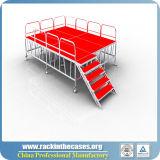 [رك] ألومنيوم [بورتبل] مرحلة مع من أحمر لأنّ حادث خارجيّة