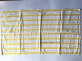 Essuie-main de thé fait sur commande de coton de piste bleue de produit d'OEM d'usine de la Chine