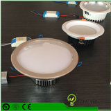 5W che IP44 piani impermeabilizzano Dimmable la pressofusione LED messo Downlight