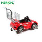 Novo Estilo de supermercado Kids Carrinho de Compras Carrinho com carro de brincar