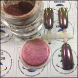 88323 verdes amarelos/pó de mica roxo do deslocamento da cor da beleza do prego do pigmento do Chameleon