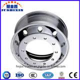 O reboque de alumínio do caminhão da roda parte bordas das rodas da liga para o reboque do caminhão