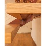 La madera fácil de la escalera de madera camina el modelo de madera de la escalera