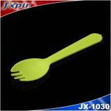 Jx1030 picoseconde Spork en plastique utilisé dans l'hôtel, l'école et l'hôpital