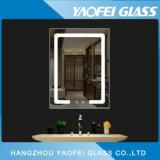 5mm FramelessのFoglessの現代浴室LEDミラー