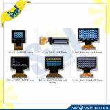 """0.96 """" weiße Bildschirmanzeige OLED des Zahn-64X128 mit 13 Stiften"""
