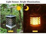 Solar Energy LED-Laterne-Lampe mit Flamme-Effekt
