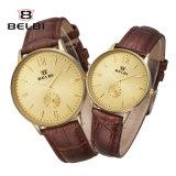 Belbi Paar formt Geschäfts-Uhr-Mann-und Frauen-Form-beiläufige einfache wasserdichte Liebes-Uhren