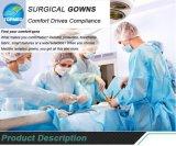 Guter Preis-chirurgisches Wegwerfkleid verstärkt
