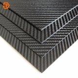 Cor de múltiplos 1K/1,5K/3K a folha de fibra de carbono/Placa/laminado de placa