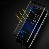 Изогнутая пленка протектора экрана стеклянная для края Samsung S6 плюс