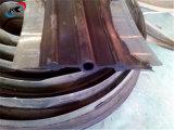 具体的な構築の鋼鉄端ゴム製水停止