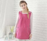 Radiación anti vestido de maternidad con tinte fibras de acero