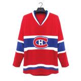 Equipe Canadá reversível personalizado barato Sport camisolas de hóquei no gelo de Desgaste