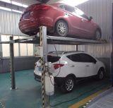 Подъем стоянкы автомобилей автомобиля 4 столбов гидровлический миниый ручной