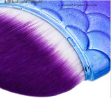 Estilo sirena Stardrone pincel de maquillaje con Bolsa gris 8 PC