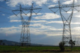 Torretta d'acciaio del trasporto di energia di angolo di 220 chilovolt (FLM-ST-028)