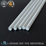 Tubo di ceramica Rod del tubo della buona allumina chimica di stabilità di Corrosione-Resistenza utilizzato in lampade ed in lanterne
