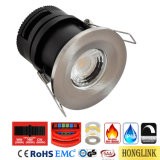 fuego seleccionable Downlight clasificado de 8W CCT IP65 Dimmable LED con el bisel cambiable