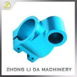 Zandstraal en het Blauwe Geanodiseerde CNC van het Aluminium van de Precisie Deel van Machines