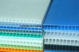 Рр гофрированного картона пластмассовые PP лист для строительства и цифровой печати