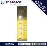 Ce/ISO/BSCI (CR2025)를 가진 3V 0.00% 수성 5years 재고 유효 기간 중국 리튬 건전지